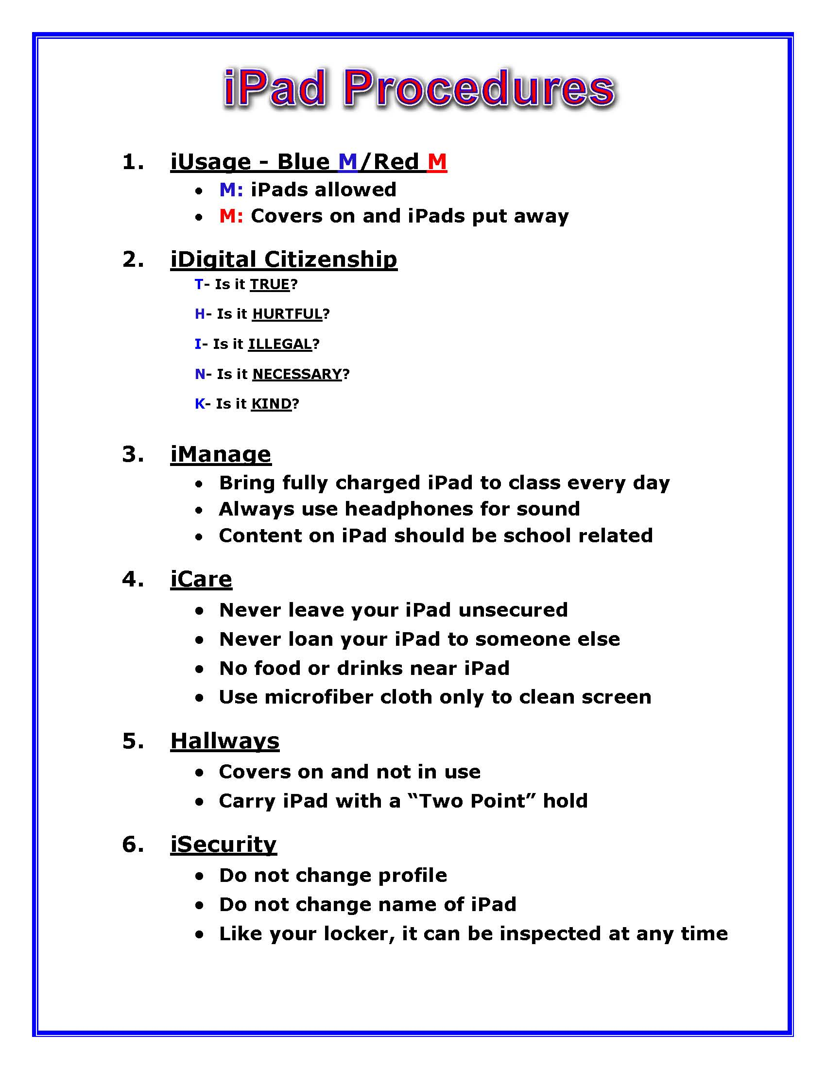 Elementary Classroom Procedures : Classroom management mlink